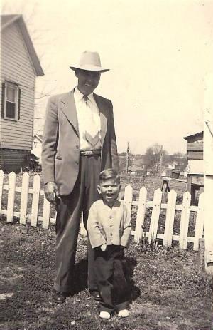 John Wesley Ghent with grandson, John Wesley Ghent III.
