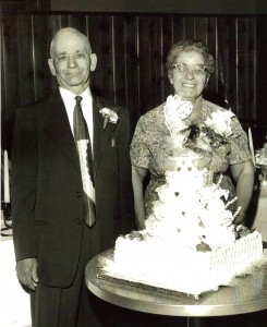 Julia and Domenic on their 40th wedding anniversary. Photo provided by family.