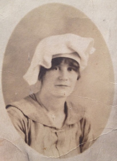 Lalar Blanton Cook, about 25 years old.