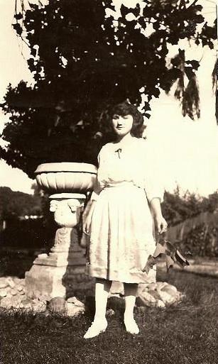 Louise Miglierini, circa 1925