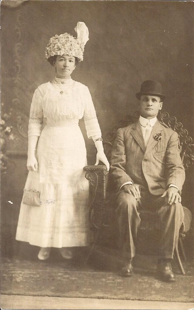 Mathias and Oveline Marcil.