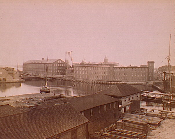 Naumkeag Steam Cotton Co (before fire), Frank Cousins Papers, 1891 -1901, Duke University Libraries.