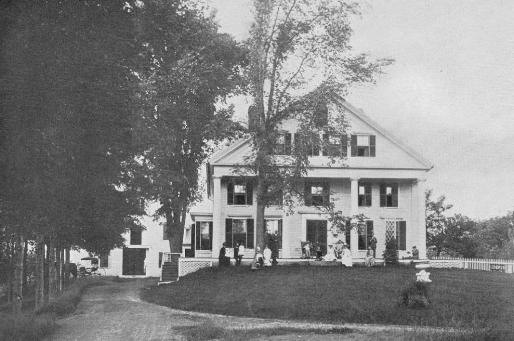 House of Nelson Davis White, at Mill Circle, Winchendon Springs. No longer there.