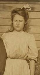 Nettie Arnette, 1908. Photo by Lewis Hine.