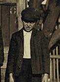 Otto Shelton, 1909. Photo by Lewis Hine.