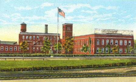 Postcard of Rock Hill Cotton Factory, Rock Hill, South Carolina.