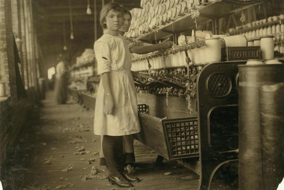 Selena Walls, 12 yrs old, West, Texas, November 1913. Photo by Lewis Hine.