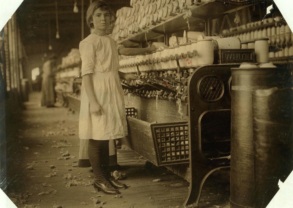 Selena Walls. Photo by Lewis Hine (nearly identical to first photo in this story).