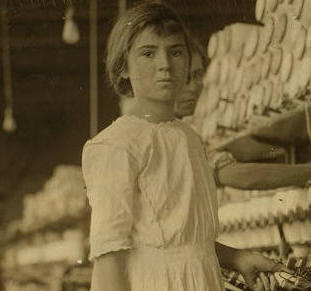 Selena Walls, 1913. Photo by Lewis Hine.