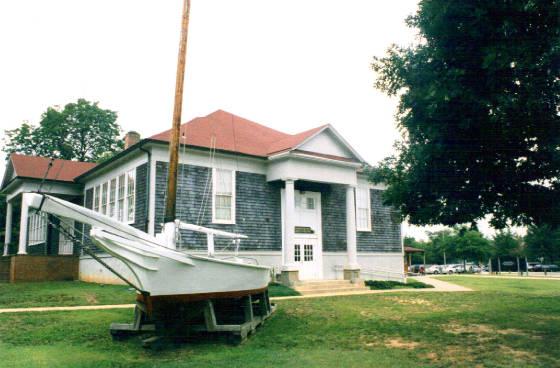 Calvert Marine Museum, formerly Solomons Elementary School, 1999