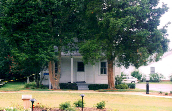 My first house in Solomons Island, now demolished, 1999.
