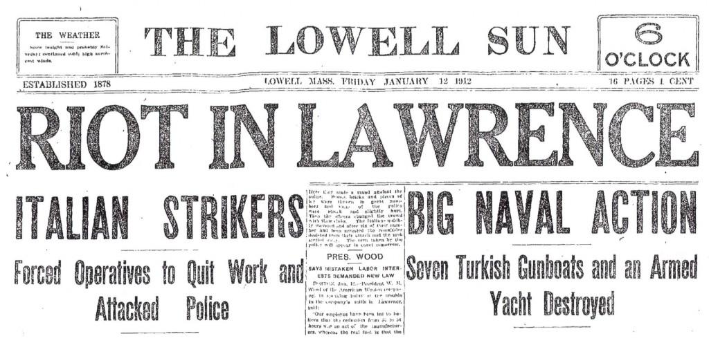 Lowell (MA) Sun, January 12, 1912.
