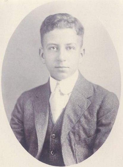 Sylva Marcil (about 17 years old), 1918.