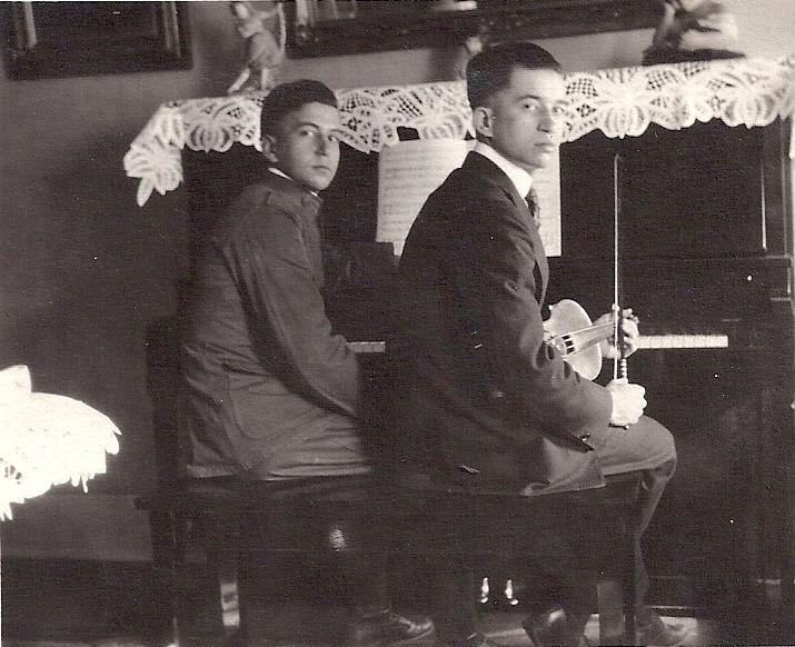 Sylva (left) and Antonio.