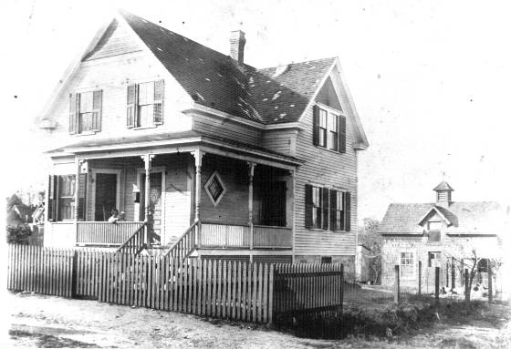 Tanguay house, 61 Sylvester St, Lawrence, Massachusetts, circa 1920.