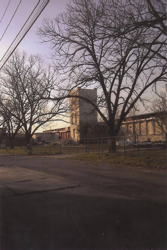 Former Tifton Cotton Mills. Photo by John Johnson, spring of 2011.