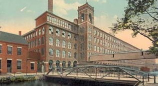 Wood Mill, Lawrence, Massachusetts, early 1900s. Courtesy of Center for Lowell History.