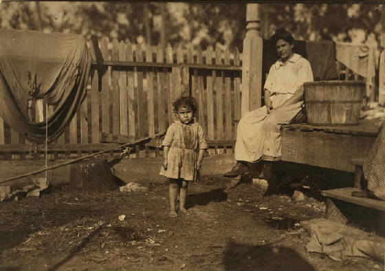Alma Alves (three years old), Biloxi, Mississippi, February 1911. Photo by Lewis Hine.