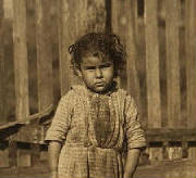 Alma Alves, February 1911. Photo by Lewis Hine.