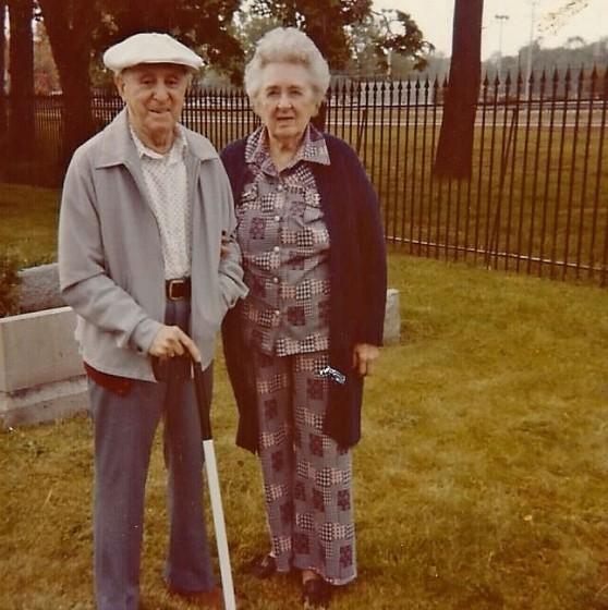 Anthony and Sylvia Martina, 1984.