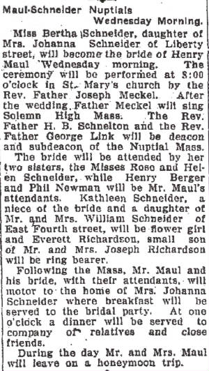 Alton Telegraph, May 15, 1923.