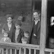 Blizzard family, Kempton, Maryland