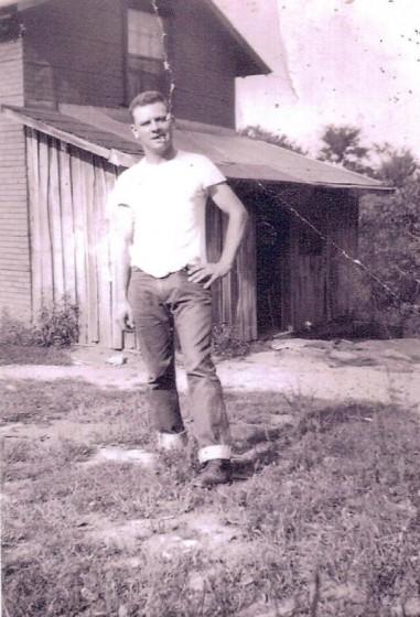 Carl Blizzard, 1950s.