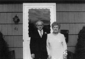 Carmine and Jennie Zizza, 50th wedding anniversary, 1984.