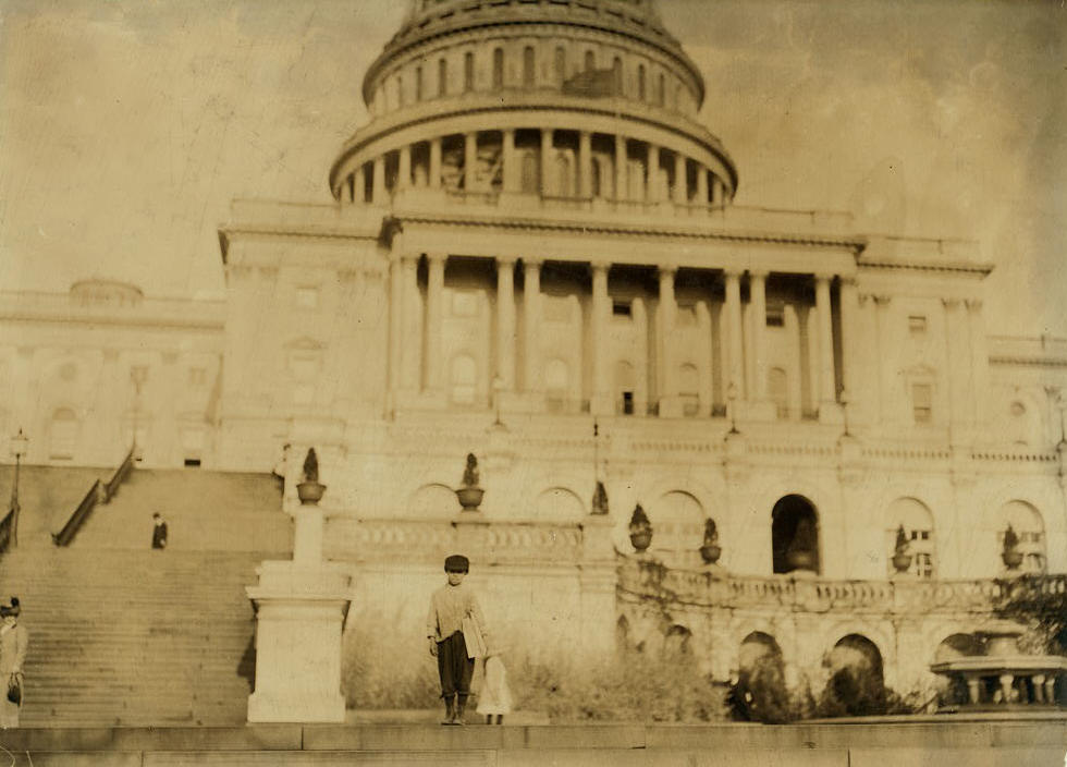 Dante Mercurio, Washington, DC, April 11, 1912. Photo by Lewis Hine.