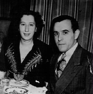 Edward and Anna Zizza at New York nightclub.