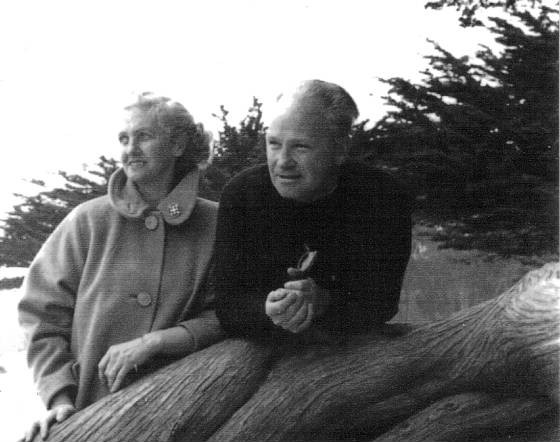 Edward Capps Jr. and wife Marie, 1970s.