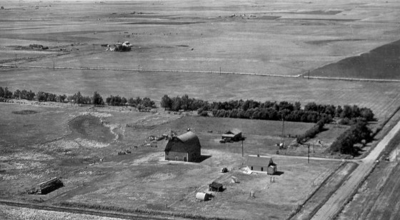 Bettenhausen farm, 1953.