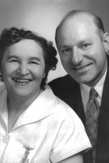 Sam and Fanita Stillman, 1950. Photo provided by family.