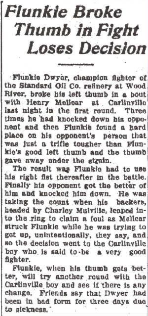 Alton Telegraph, February 5, 1921.