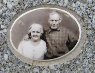 George and Lillie Blizzard. Courtesy of FindAGrave.com.