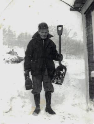 George Blizzard, 1958.