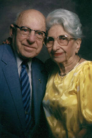 Sam and Gertrude Stillman, 1980. Photo provided by family.
