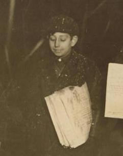 Guy Casaceli, 1910. Photo by Lewis Hine.