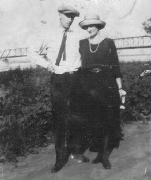 Joseph and Nellie Dwyer, early 1920s. This and other family photos provided by Rosemary Dodgen.