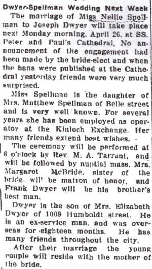 Alton Telegraph, August 18, 1921.