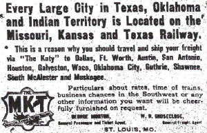 Emporia (Kansas) Gazette, March 20, 1906.
