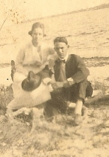 Lazaro and Bertha Boney, early 1920s.