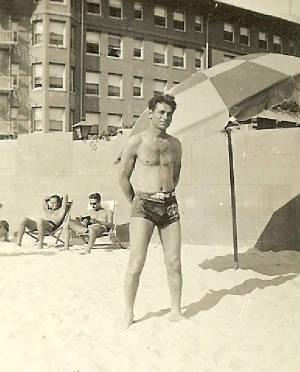 Louis Shuman, about 1925.