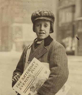 Marshall Knox, 1910. Photo by Lewis Hine.