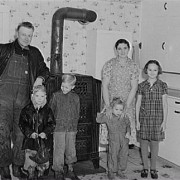 Miksch family, Liberty Township, Kansas