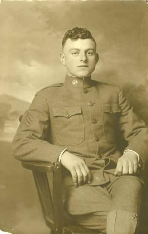 Meyer Bishop, during WWI.