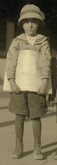 Odell McDuffey, 1913. Photo by Lewis Hine.