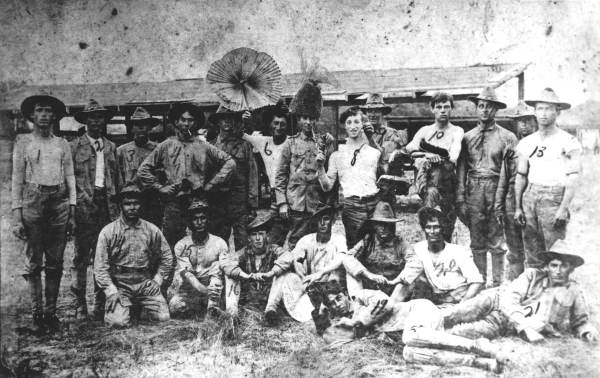Apalachicola Company L, First Florida Infantry, circa 1918.