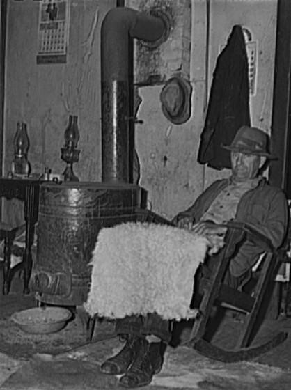 Henry Calvin Richardson, Oregon County, Missouri, Nov 1940. Photo by John Vachon.