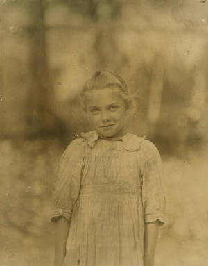 Rose Berdych, Bluffton, South Carolina, February 1913. Photo by Lewis Hine